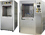 Rectangular Section Vertical Power Door Laboratory Autoclave