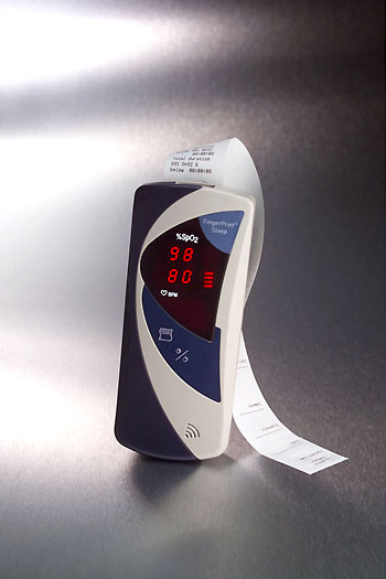 3403 Hand-Held FingerPrint Sleep Pulse Oximeter